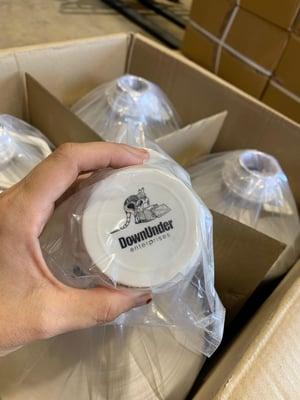 Alum flasks with DUE cap