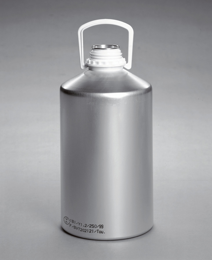 Aluminum flask 5,10,20 kg
